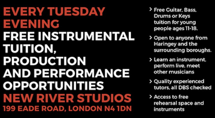 FREE Music lessons in Haringey